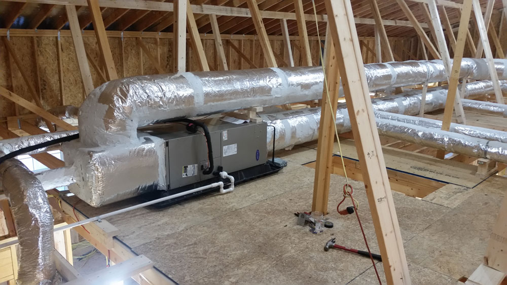 Recent Heating and Venting System Installation